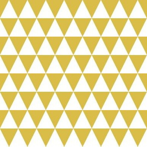Triangle Rows - Mustard by Andrea Lauren