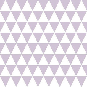 Triangle Rows - Lavender by Andrea Lauren