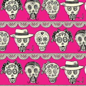Los Muertos in Hot Pink!