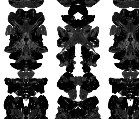 Rorschach - 6 - Small fabric by heytangerine on Spoonflower - custom fabric