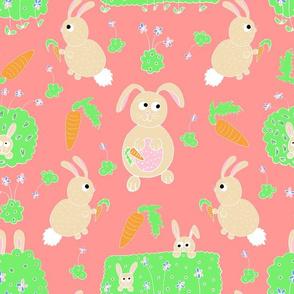 Bunnies in the garden