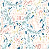 Warmest Wishes-  white