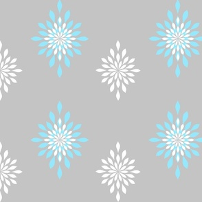 Oversized snowflakes