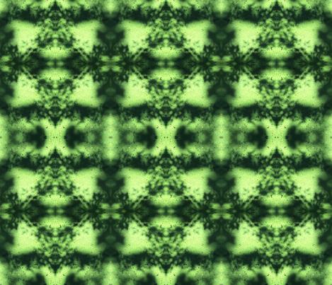 Green fabric by ghennah on Spoonflower - custom fabric