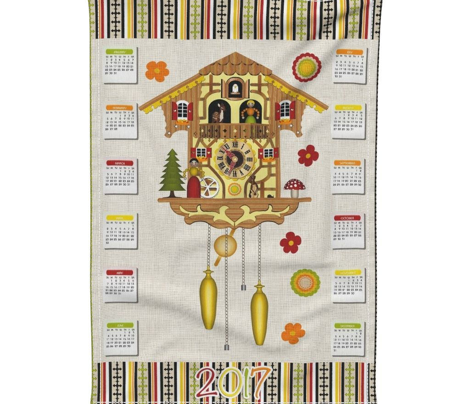 Cuckoo (Tea Towel Calendar 2017)