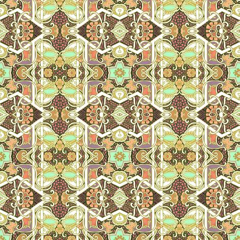 Harvest of Paisley fabric by edsel2084 on Spoonflower - custom fabric