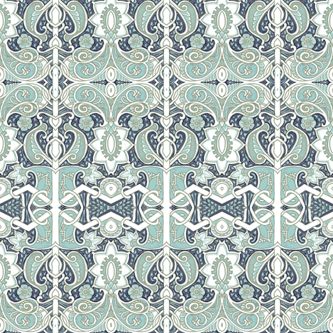 Ghosts of Paisleys Past fabric by edsel2084 on Spoonflower - custom fabric