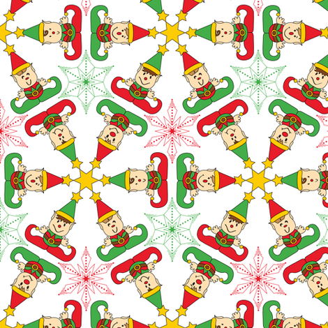 The Elves fabric by jjtrends on Spoonflower - custom fabric