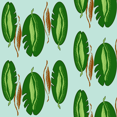 Fenestrated fabric by nalo_hopkinson on Spoonflower - custom fabric