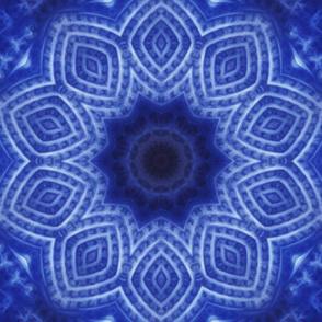 Blue Soft Star Tile 303