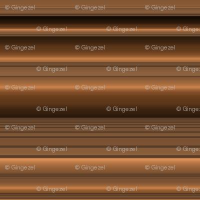 Bronze Tone Stripe Small