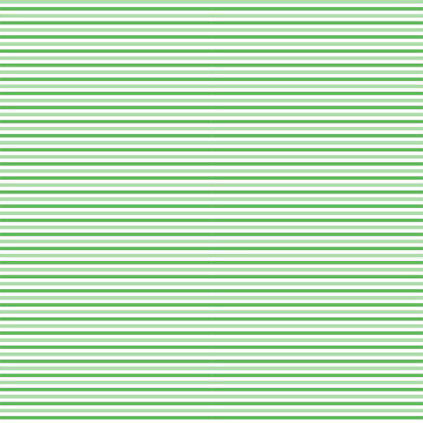 Tiny Combo Stripes Lt Green, Med Green, White fabric by dollycraft on Spoonflower - custom fabric
