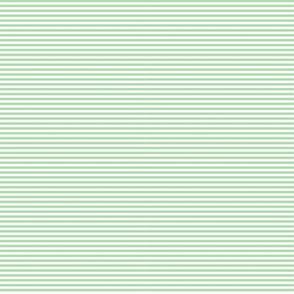 Tiny Stripes Lt Green
