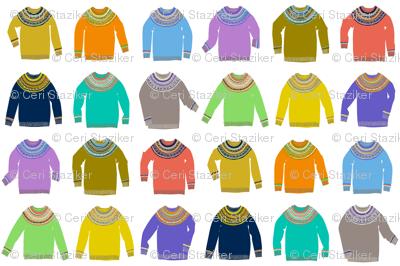 Woolly Jumpers (original palette)