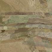 Tan mint shale layers