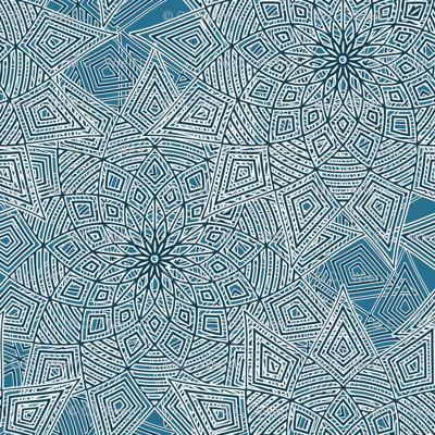 Blue-flake