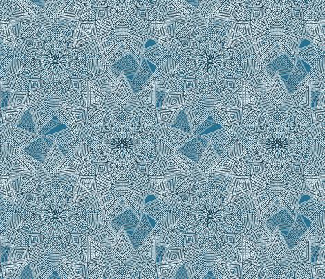 Blue-flake fabric by wren_leyland on Spoonflower - custom fabric