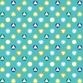 Triangles dots