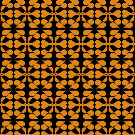 Midnight Moondrops fabric by eve_catt_art on Spoonflower - custom fabric