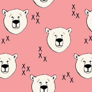 Polar Bear // salmon