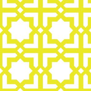 Casablanca white-mustard XL