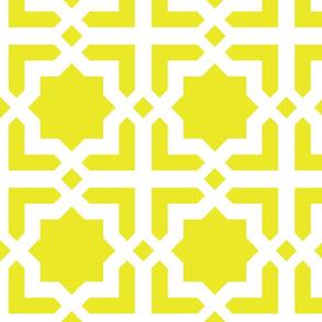 Casablanca mustard-white XL