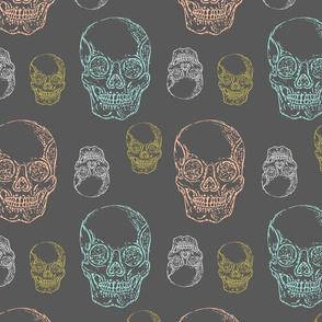 Flirty Skulls
