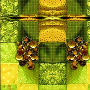 Jewelled Citrus Patchwork