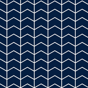 chevron // navy - Rustic Woods Collection