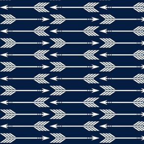 arrows // navy - Rustic Woods