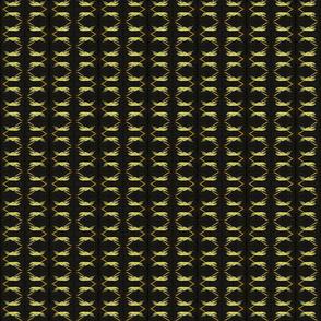 Gold & Black Coursing Borzoi