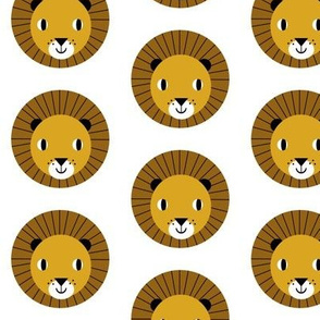 lion baby kids nursery cute simple minimal design