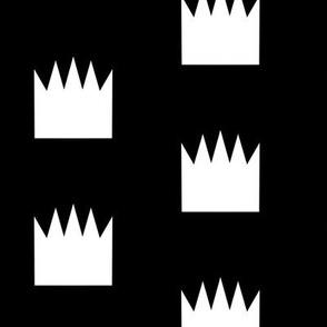 crowns bw