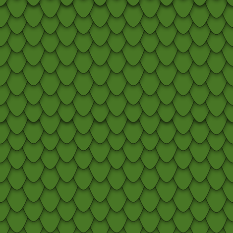 Green Dragon Scales fabric by charleyzollinger on Spoonflower - custom fabric