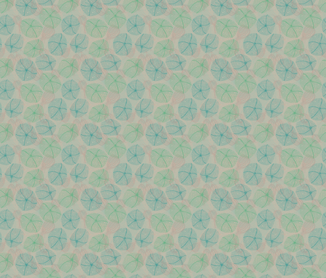 Pale Physalis fabric by lottibrown on Spoonflower - custom fabric