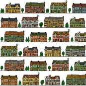 Townhouse neighborhood
