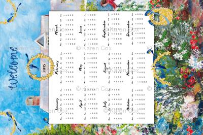 Welcome 2015 calendar