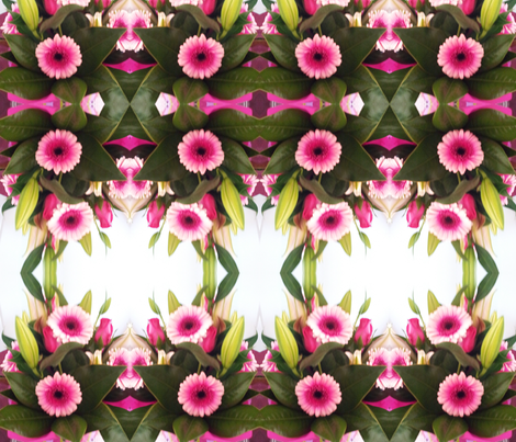 Gerberas fabric by colour_angel_by_kv on Spoonflower - custom fabric