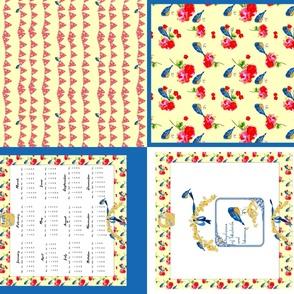 2015 Calendar fat quarter bundle