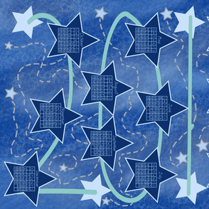 Constellation Tea Towel Calendar