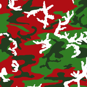 Christmas Woodland Camo
