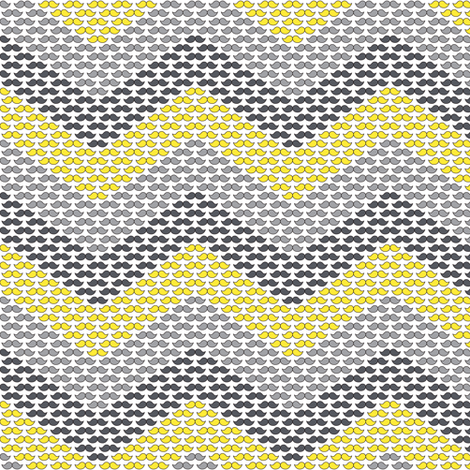 MustaChevron fabric by alenkas on Spoonflower - custom fabric