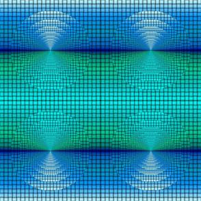 turquoise blue weave horizon tell3people