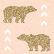 glitter bear blush