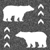 bear yarn dyed linen