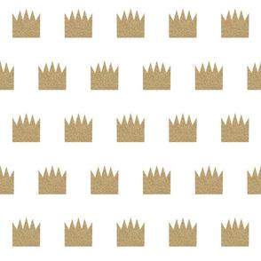 glitter crown - half-brick