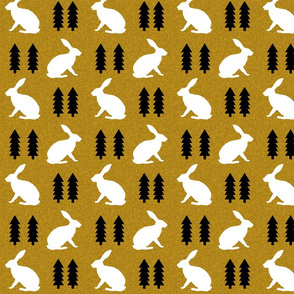 rabbit golden linen