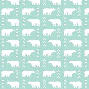 bear mint linen