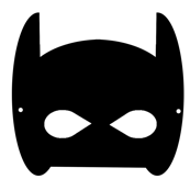 bat mask - small
