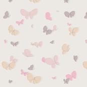Cute Flying Butterflies